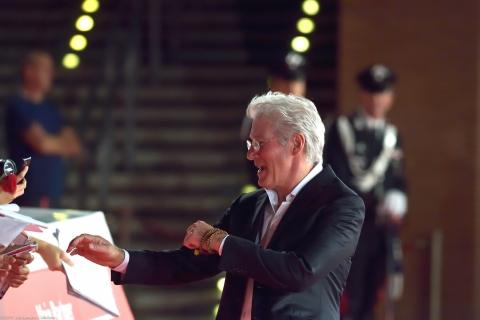 Richard Gere alla Festa del Cinema a Roma 2014