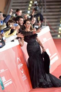Maria Grazia Cucinotta alla Festa del Cinema a Roma 2014