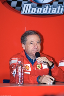 Jean Todt - Conferenza Stampa - Finali Mondiali Ferrari 2006 - Monza