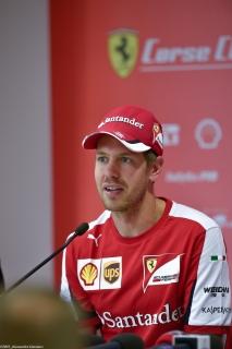 Sebastian Vettel - Conferenza stampa - Finali Mondiali 2015 - Mugello