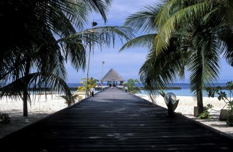 Maldive - Isola di Boduhiti -  1996
